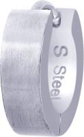 Peora Stainless Steel Huggie Earring