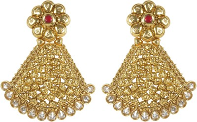 Muchmore Gorgeous Beautiful Style Fashion Earring For Women Gift Jewelry Crystal, Ruby Alloy Earring Set