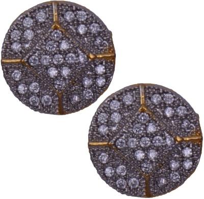Mahaveer Pearls New Sparkling Brass Stud Earring
