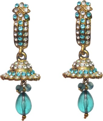 NM Products Blue Alloy Alloy Drop Earring