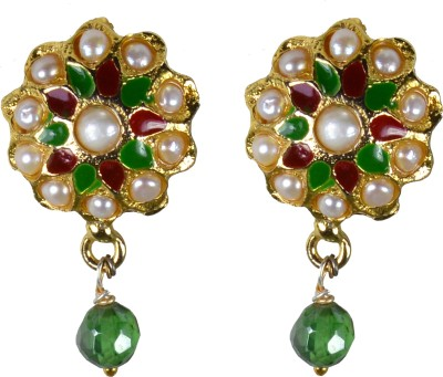 Pearl Paradise Designer Collection - (H) Pearl, Crystal Alloy Drop Earring