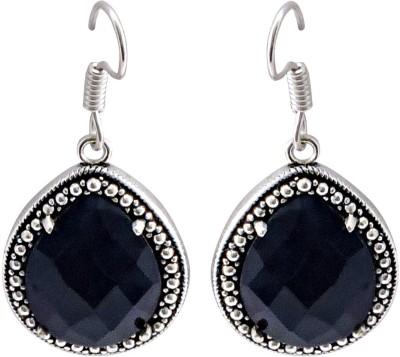 Cultural Fusion Blue stone earring Alloy Drop Earring