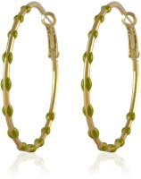 Sarah Beaded Metal Hoop Earring best price on Flipkart @ Rs. 275