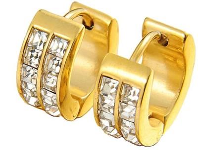 Ruvee Luxe Principe Metal Stud Earring