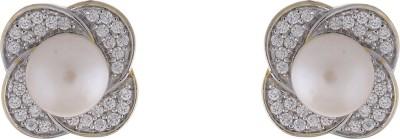 Jewel Planet Fashion Pearl Alloy Stud Earring