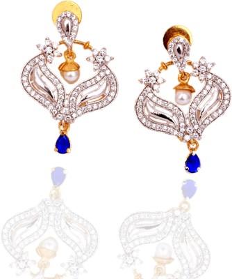 Zebs Collection Silver ZC07864 Alloy Drop Earring