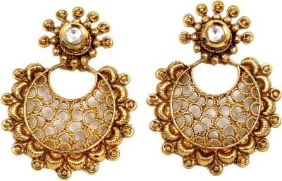 Sgsproducts Princess Delight26 Metal Chandbali Earring