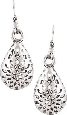 Castle Street Antique Silver Alloy Dangle Earring