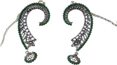 Uzuri Trendy Ethnic Copper Cuff Earring