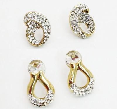 NEHASTORE Combo Offer CB27 Mother of Pearl Alloy Earring Set