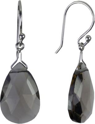 Pearl Paradise Grey Majestic Topaz Stone, Silver Drop Earring