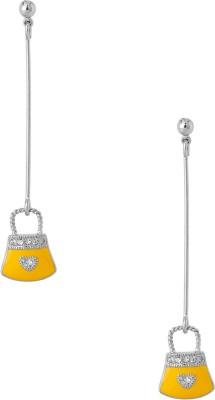 Aaradhya Precious Metal Drop Earring