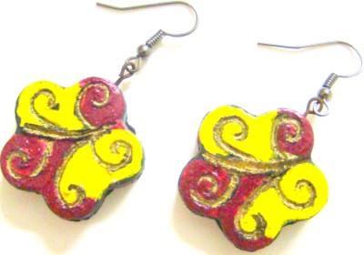 Store Utsav Floral Dream Terracotta Dangle Earring