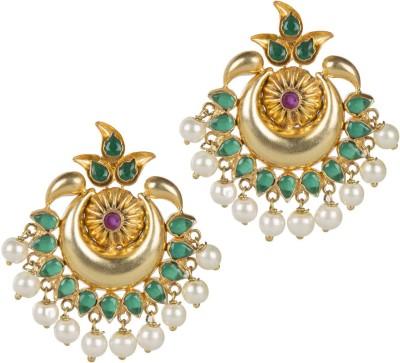 Mehtaphor Neysa_2 Brass Chandbali Earring
