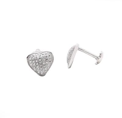 Vummidi Bangaru Chetty & Sons Etique Sterling Silver Stud Earring