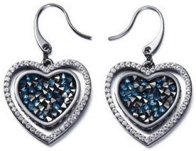 Nevi Heart Crystal Crystal Dangle Earring