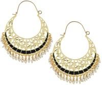 The Jewel Box Filigree Pearl Copper Hoop Earring best price on Flipkart @ Rs. 641