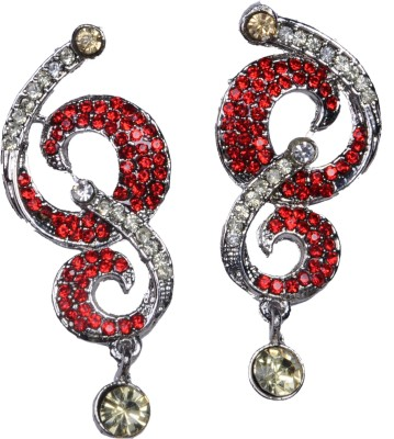 Krazzy Collection Sparkle Alloy Drop Earring