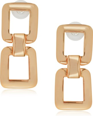 Spargz Fashionable Gold Dangle Earring Alloy Dangle Earring