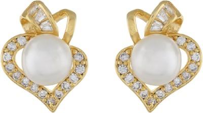 Classique DesignerJewellery Sparkling Pearl Alloy Stud Earring