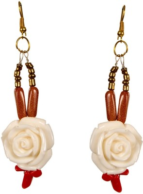 Retaaz Magnolia Ardour Acrylic, Steel Dangle Earring