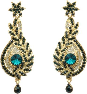Indowave Floral Acrylic Drop Earring