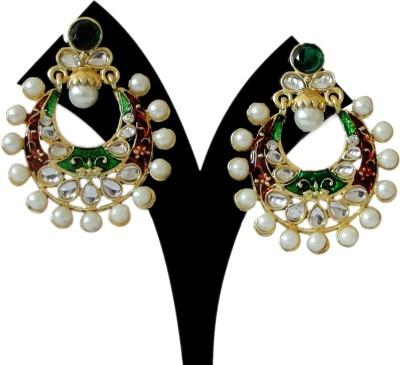 Vihana Arts Style Diva Alloy Chandbali Earring