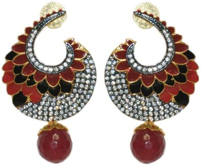 Dulhan 20 Zircon Alloy Drop Earring