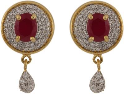Desai Jewellers Designer Cubic Zirconia Alloy Drop Earring