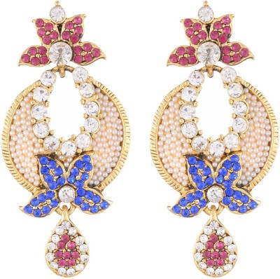 Neckies AJER Yellow Gold Drop Earring