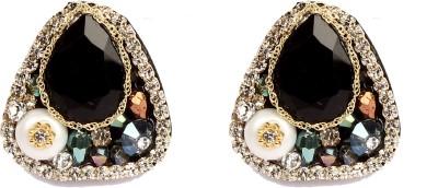 Divitha Allure Multi stones studs for the festive seson. Alloy Stud Earring