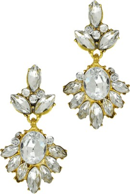 Being Snazzy Pristine Crystal Alloy Stud Earring