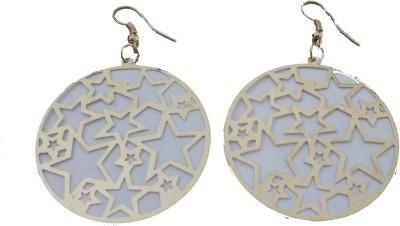 MH Star Crystal Plastic Dangle Earring