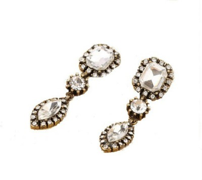 The Sparkle Connection Crystal dazzle Crystal Alloy Drop Earring
