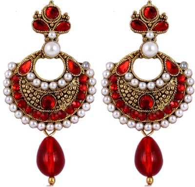 Senoritafashion Western Style Alloy Chandbali Earring