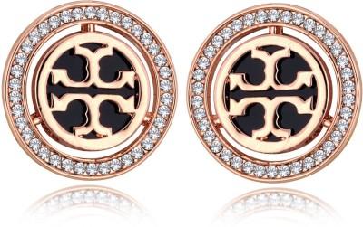 Alamod ALER 5082 Cubic Zirconia Brass Stud Earring