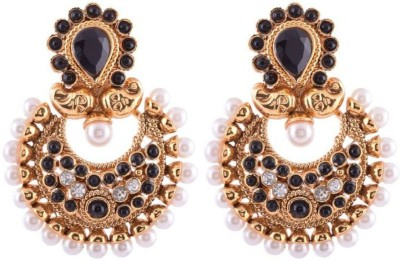Ganapathy Gems Gold plated Copper Chandbali Earring