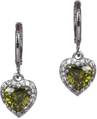 Ambitione Fashionable Heart Alloy Drop Earring