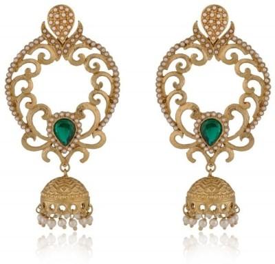 Rooh Jewellery Brass Jhumki Earring