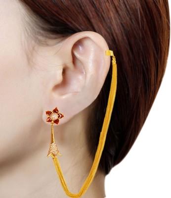 Prisha PPIPLCZER17 Zircon Copper Jhumki Earring