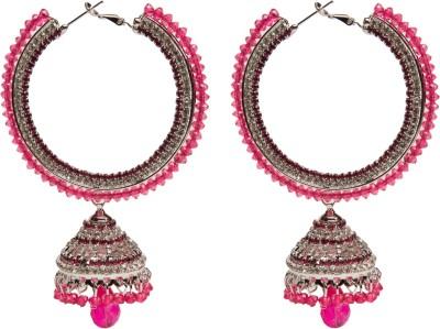 Medallion Collection Bali Alloy Hoop Earring