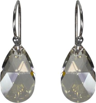 Pearl Paradise Sonic Silver Swarovski Crystal Silver Dangle Earring