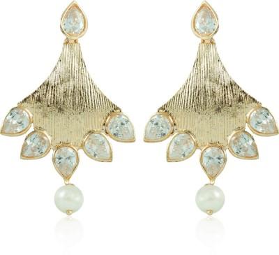 BoBell Rose Gold AD Elegant Copper Drop Earring