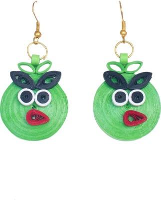 Kalarasika Angry Birds Paper Drop Earring