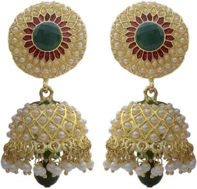 B-fashionable Dazzling Pearl Alloy Jhumki Earring