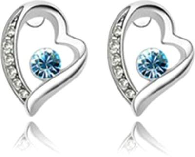 University Trendz UNIV_E022 Crystal Alloy Stud Earring