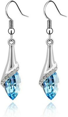 University Trendz UNIV_E031 Crystal Alloy Dangle Earring