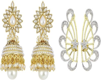 Multiline Company Spring Sparkle Alloy Earring Set