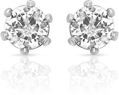 Vanity Roots Round Glaze Crystal Alloy Stud Earring