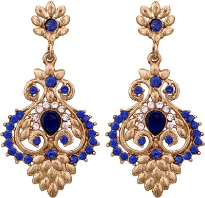 Vendee Fashion Elegant Peacock Collection Alloy Chandelier Earring